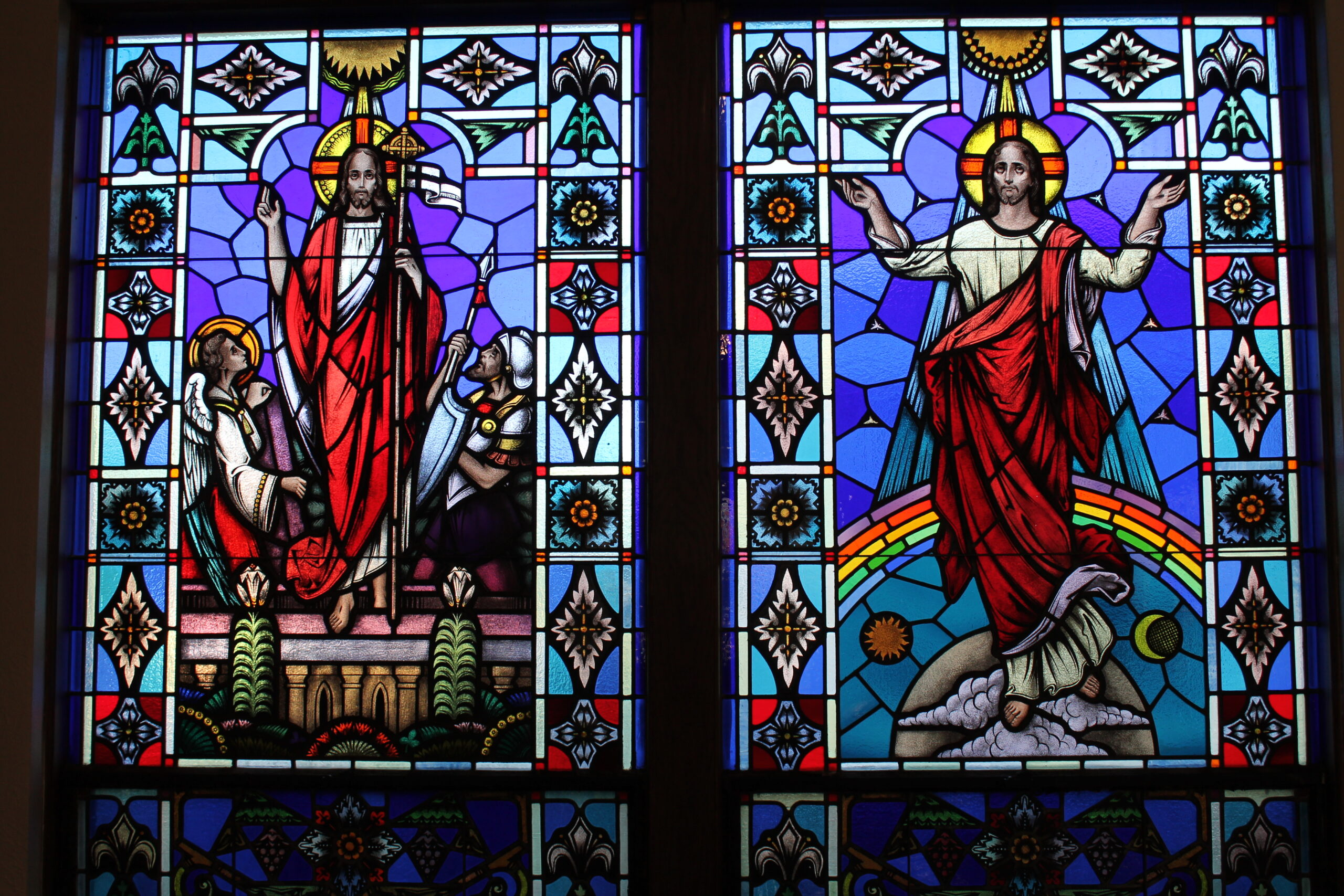 Stained Glass at St. Max Parish